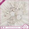 Gümüş Kordeneli Fransız Dantelli Lavanta Kesesi